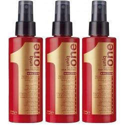 """REVLON All-in-one, lozione per capelli ,set di tre confezioni di """"Uniq One"""" da 150 ml"""